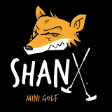 Shanx Logo small WHITE Text MINI GOLF TM